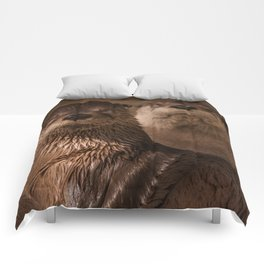 River Otters Comforters