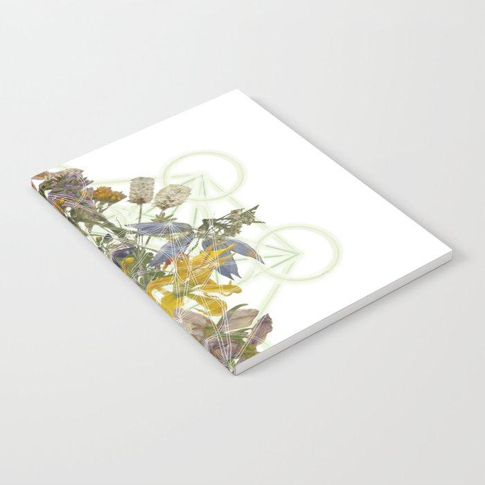 Montana Flowers & Sacred Geometry Notebook