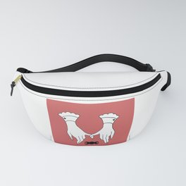 Witchy Hands Pinky Promise Design Fanny Pack