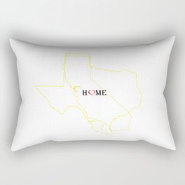 Two Homes One Heart Rectangular Pillow
