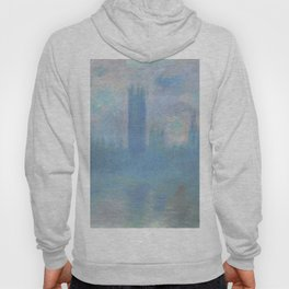 Monet, The Houses of Parliament, London, 1900-1093 Hoody