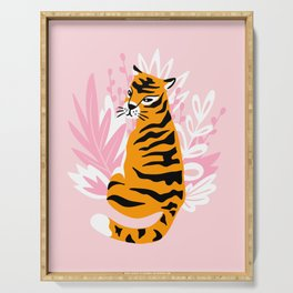 Cute tigers Serving Tray