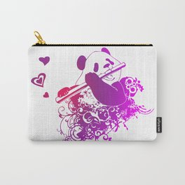 Panda Flute Carry-All Pouch