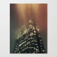Misty Tower Canvas Print