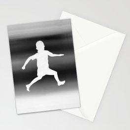 Body Movin - Joy B&W Inverse Stationery Cards