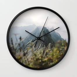 Blue Mountains - Landscape Photography Wall Clock