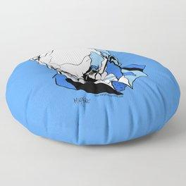 Swiss Psychiatrist Carl Jung Floor Pillow