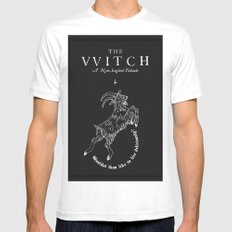 The Witch - Black Phillip White Mens Fitted Tee SMALL