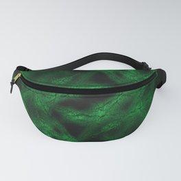 Green fantasy pattern Fanny Pack