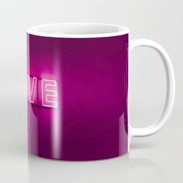 Love Neon Sign Coffee Mug