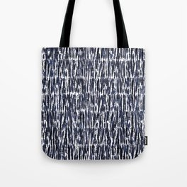 tie-dye texture-grayish navy Tote Bag