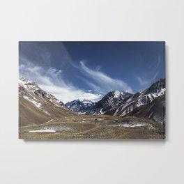 Aconcagua View Metal Print