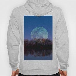 Luna arborum a tergo Hoody