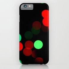 Christmas Bokeh Slim Case iPhone 6s