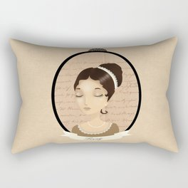 Pride and prejudice - Lizzy Bennet Rectangular Pillow