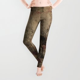 Grunge wall texture Leggings