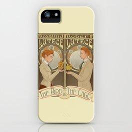Lutece Twins Nouveau iPhone Case