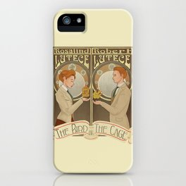 Lutece Twins Nouveau iPhone Case