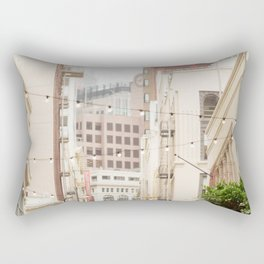 San Francisco Daydreaming in Union Square Rectangular Pillow