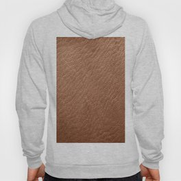 Leather Texture (Tan) Hoody