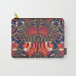 Tigerlily Pattern Carry-All Pouch