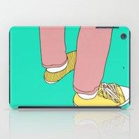 boyfriend iPad Cases featuring Boyfriend jeans by Rinomonsta