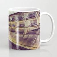 subway Mugs featuring Subway by wendygray