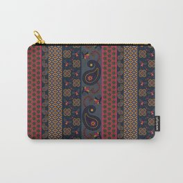 Henna pattern print - Adel Carry-All Pouch