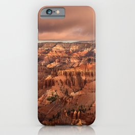 Morning 6011 - Cedar_Breaks National_Monument, Utah iPhone Case