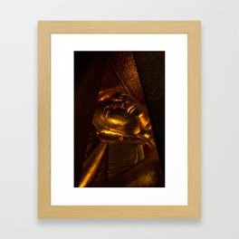 Reclining Buddha  Framed Art Print