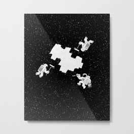 Incomplete Space Metal Print