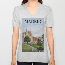 El Prado Museum. Madrid Unisex V-Neck