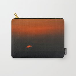 cloudy sunset seascape Carry-All Pouch