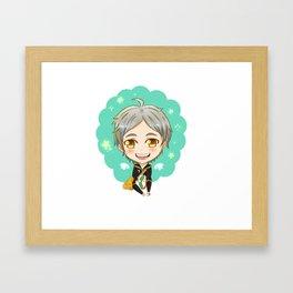 Sugawara Koushi Framed Art Print