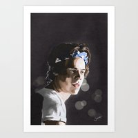 harry Art Prints featuring Harry by Judit Mallol