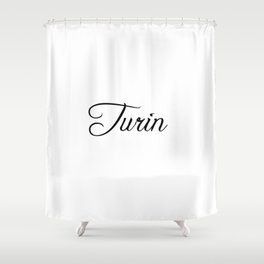Turin Shower Curtains