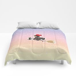 Delivery Girl Comforters