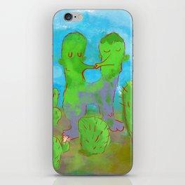 Kissing Cactus iPhone Skin