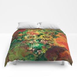 SKULL BOTANICA Comforters