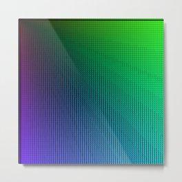 Prismatic Triangle Rays Metal Print