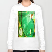 golf Long Sleeve T-shirts featuring Golf Anyone? by Robin Curtiss