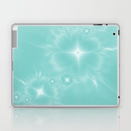 Fleur de Nuit in Aqua Tone Laptop & iPad Skin