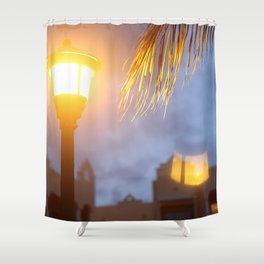 Flipped Light Shower Curtain
