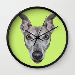 Whippet // Green (Vespa) Wall Clock