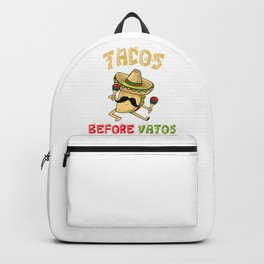 Tacos Before Vatos - Cinco De Mayo Backpack