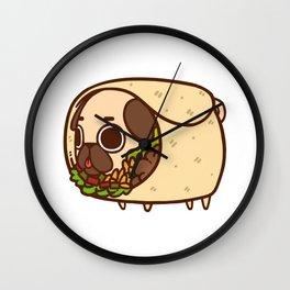 Puglie Burrito Wall Clock
