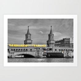 Berlin Oberbaumbruecke Art Print