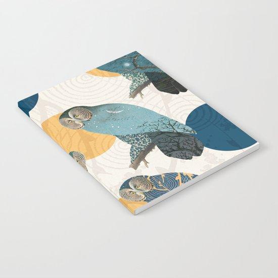 Night Owl Polka Notebook