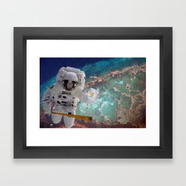 The Homerun That Never Landed Framed Art Print