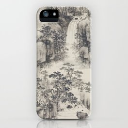 Landscape with Waterfall iPhone Case